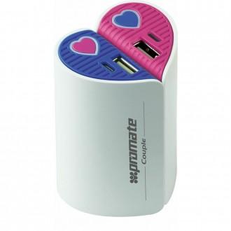 Baterie Externa 5200 Mah Pachet 2 Buc Colectia Couple
