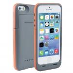 Capac Spate cu baterie externa incorporata pt iPhone 5-55 Colectia force - gri