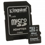 Card de memorie kingston micro sdc4 - 16GB