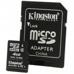 Card de memorie kingston micro sdc4 - 4GB