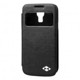 Book s-view Negru pentru Samsung Galaxy S4 Mini