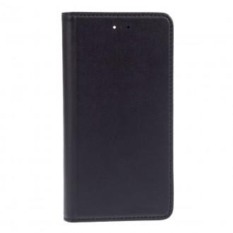 Book Negru Piele Cu Suport Card Pentru Iphone 6 4.