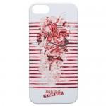 Capac Spate Rosu Pentru Iphone 5/5s Jean Paul Gaultier Colectia Tatoo