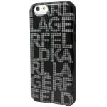 Capac Protectie Spate Karl Lagerfeld Pentru Iphone 6 4.7 Inch Colectia Hypnotik - Negru