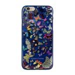 Capac Spate Christian Lacroix pentru iPhone 6 6s Colectia Butterfly - Albastru