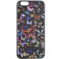 Capac Spate Negru Christian Lacroix pentru iPhone 6 6s Colectia Butterfly