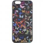 Capac Spate Negru Christian Lacroix Pentru Iphone 5 4.7 Inch Colectia Butterfly