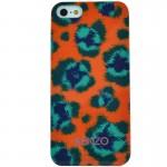 Capac Protectie Spate Kenzo Pentru iPhone 6 4.7 Colectia Leopard - Portocaliu