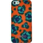 Capac Protectie Spate Kenzo Pentru iPhone 5/5S Colectia Leopard - Portocaliu