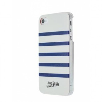 Capac Spate Alb/bleumarin Pentru Iphone 5/5s Jean