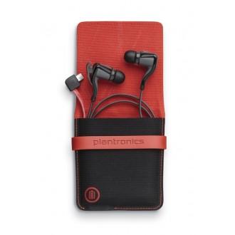 Casti Audio Wireless Plantronics Cu Statie Portabila De Incarcare Inclusa Colectia Backbeat Go2 - Negre