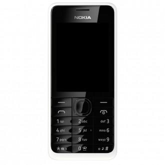 Nokia 301 Dual Sim White