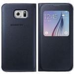 Book S-view Samsung Pentru Samsung Galaxy S6 - Albastru