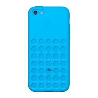Imagine indisponibila pentru Capac Protectie Spate Apple Pentru Iphone 5c - Bleu