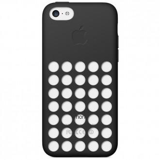 Imagine indisponibila pentru Capac Protectie Spate Apple Din Silicon Pentru Iphone 5c - Negru