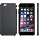 Capac Protectie Spate Apple din Silicon pentru iPhone 6 Plus 6s Plus - Negru