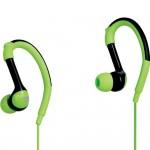Casti Audio Promate 3.5 Mm Cu Fir Sport Colectia Natty - Verzi