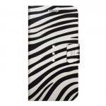 Book White Diamonds Pentru Iphone 6 Colectia Safari - Zebra