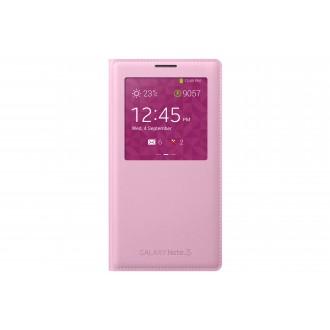 Book Roz S-view Samsung Pentru Galaxy Note 3