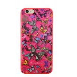 Capac Spate Roz pentru iPhone 5 5s SE Christian Lacroix Coelctia Butterfly