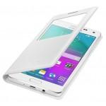 Husa Book S-View Samsung Pentru Samsung Galaxy A5 - Alb