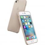 Capac Protectie Spate Apple Din Piele Pentru Iphone 6s Plus - Bej