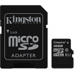 Card De Memorie Kingston Micro Sdhc - 16gb Clasa 10 Gen 2