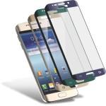 Folie Protectie Ecran Sticla 3d Cellara Pentru Samsung Galaxy S6 Edge Plus - Albastru Metalic