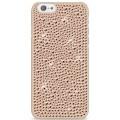 Capac Protectie Spate White Diamonds pentru iPhone 6 6s Colectia Infinity - Crem