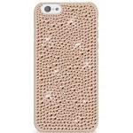 Capac Protectie Spate White Diamonds Pentru Iphone 6 Colectia Infinty - Crem