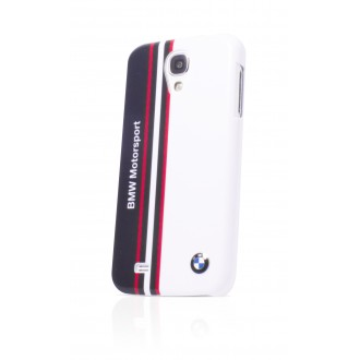 Capac Spate BMW Alb lucios Samsung Galaxy S4 - Colectia motorsport