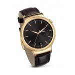 Smartwatch Huawei W1 Otel Inoxidabil Auriu Si curea din Piele Maro