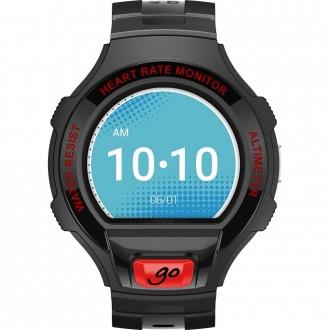 Smartwatch Alcatel Go Watch Negru