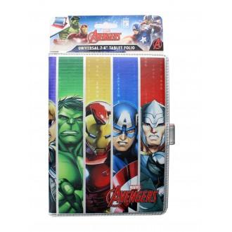Husa Universala Avengers Pentru Tableta 7/8 Inch