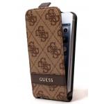 Flip Guess Maro pentru iPhone 5-5S