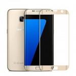 Folie Protectie Ecran Sticla 3d Cellara Pentru Samsung Galaxy S7 Edge - Aurie