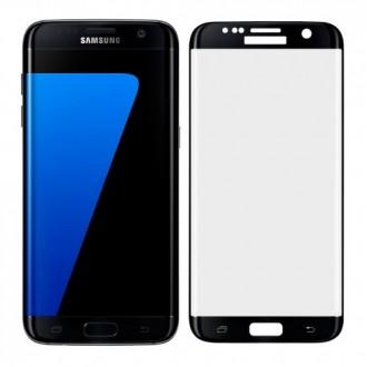 Folie Protectie Ecran Sticla 3d Cellara Pentru Samsung Galaxy S7 Edge - Neagra