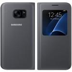 Husa Book S-View Samsung pentru Samsung Galaxy S7 - Negru