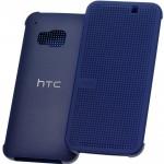 Husa Book Dot Flip HTC pentru HTC One M9 - Albastru