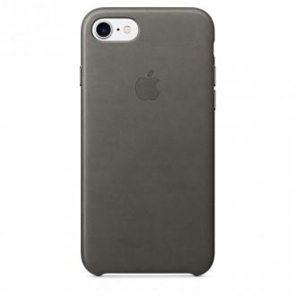 Imagine indisponibila pentru Capac Protectie Spate Apple Din Piele Pentru Iphone 7 - Gri