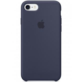 Imagine indisponibila pentru Capac Protectie Spate Apple Din Silicon Pentru Iphone 7 - Bleumarin