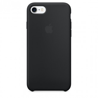 Imagine indisponibila pentru Capac Protectie Spate Apple Din Silicon Pentru Iphone 7 - Negru