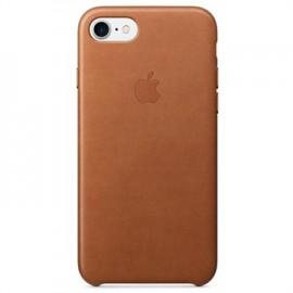 Capac Protectie Spate Apple Din Piele Pentru iPhone 7 - Maro
