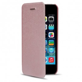 Book Cellara Pentru Iphone 5/5s/se - Roz Auriu