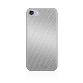 Capac Protectie Spate Black Rock Carbon Design Pentru iPhone 7 - Argintiu