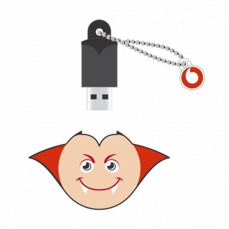 Imagine indisponibila pentru Memorie Portabila Mobiama Usb 2.0 Emoji Vampir - 16gb