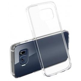 Capac Protectie Spate Cellara Colectia Crystal Pentru Samsung Galaxy S6 Edge - Transparent