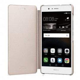 Husa Book Huawei pentru Huawei P9 Lite - Auriu