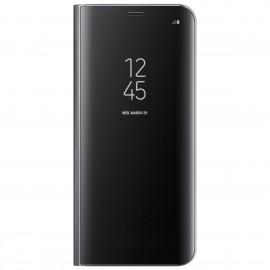 Book Clear View Standing Cover Samsung Pentru Samsung Galaxy S8 Plus - Negru