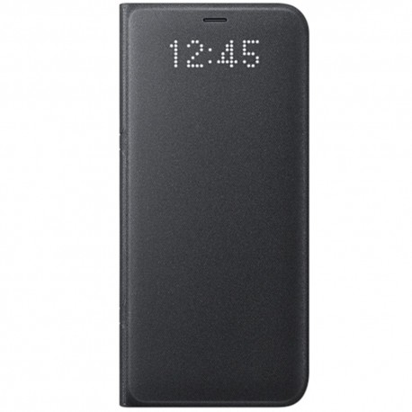 Book Led View Samsung Pentru Samsung Galaxy S8 - Negru